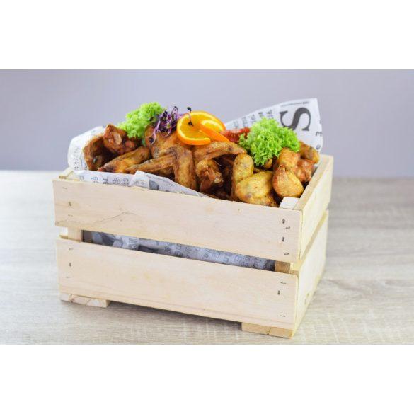 Sült csirkeszárny/láda