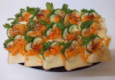 Sajtos party szendvics