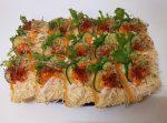 Sonkás-Sajtos party szendvics