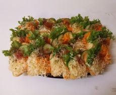 Vegetáriánus party szendvics