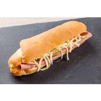 Óriás szendvics kifli-Sonkás