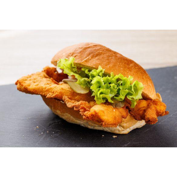 Rántott csirkemelles szendvics